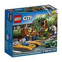 Lego 60157Esplora la misteriosa giungla LEGO® City e fai scoperte sorprendenti! Carica le attrezzature sulla barca e addentrati nella giungla inesplorata. Guarda quella rana tropicale! Fermati e prendi la lente d'ingrandimento per osservare la rana p...