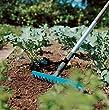 GARDENA combisystem-Rechen: Praktische Harke mit 14 Zinken, ideales Gartenzubehör zum Rechen, Unkrautentfernen und zur Bodenbearbeitung, Arbeitsbreite 36 cm, passend zu allen cs-Stielen (3178-20)