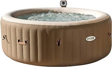 Intex - Pure Spa Bubble Therapy con Pompa, Riscaldatore e Sistema Purificazione Acqua