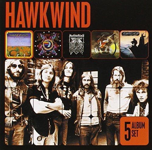 Hawkwind - 5 Album Set By Hawkwind (2013-03-22)