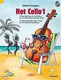 Hot Cello 1: 16 Easy Pop Pieces in 1st Position. Violoncello (2. Violoncello ad libitum). Ausgabe mit CD. (Celloschule)