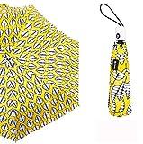 Shopping 7 Razze Ombrelli Automatici Da Donna Completamente Compatti Moda Pioggia Giallo Rosso Antivento A1
