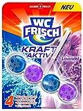 WC Frisch Kraft-Aktiv Duftspüler Lavendel, WC Frische, 10er Pack (10 x 1 Stück)