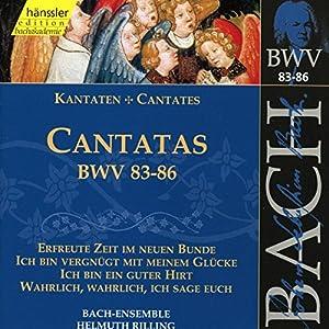 Johann Sebastian Bach - Cantatas BWV 83-86