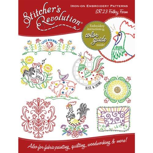Stitchers Revolution Transfer Pattern Embroidery