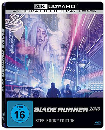 Blade Runner 2049 (Steelbook) - Ultra HD Blu-ray [4k + Blu-ray Disc]