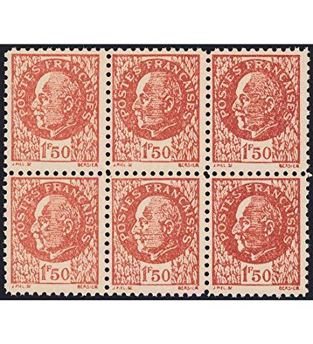 chung Nr. 45 ungestempelt im 6er-Block Briefmarken für Sammler ()
