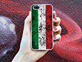 Italien Flagge * Handy Hülle Cover für iPhone 4 5 5S 6 Galaxy S4 S5, Handymodell:Apple iPhone 6 / 6S;Randfarbe der Hülle:Schwarz
