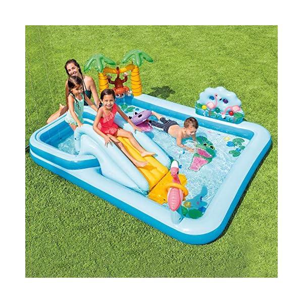 Intex 57161NP – Centro de juegos aventura acuática en la jungla