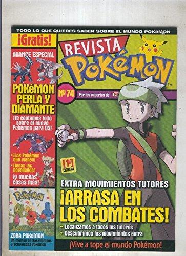 Revista pokemon numero 074