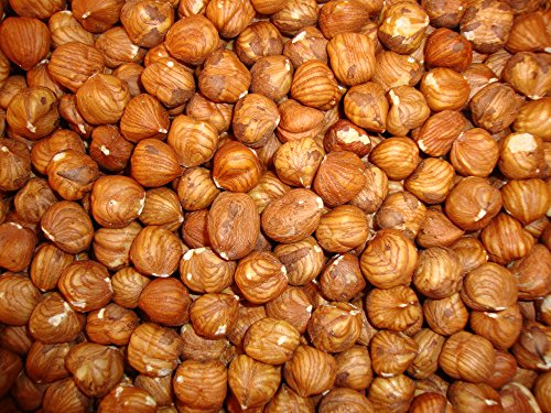Natürliche Haselnüsse, ganz geschält 2 Kg, wiederverschließbarer Beutel