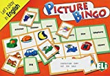Picture Bingo: Let's play in english