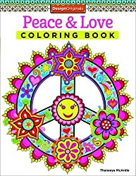 Peace & Love Coloring Book (Design Originals) by Thaneeya McArdle (2014-10-01)