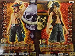 One Piece DX figure THE GRANDLINE MEN Vol 1 Luffy Ace whole