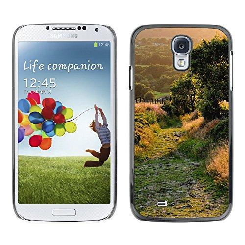 for-samsung-galaxy-s4-case-green-quiet-alley-design-pattern-duro-staccabile-stile-telefono-cellulare