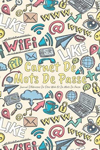 Carnet de Mots de Passe: A5 - 105 pages - 312 mots de passe - Couverture souple - MDP6 - par A L Notebooks