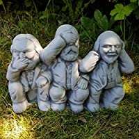 Steinfigur Büste Karl Marx Engels Lenin frostfest Deko Haus und Garten