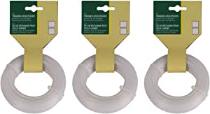 1,6 mm 15 m Nylon Trimmer Mäh Ersatz Faden 4 Kant vierkant quadrat Sense