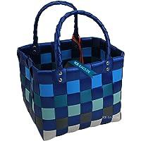 """Mini ICE-BAG """"5008-43"""" original Witzgall - Taschen Körbe - blau-grau"""
