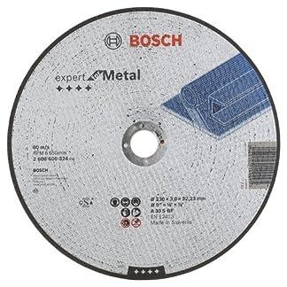 Bosch 2 608 600 324 – Disco de corte recto Expert for Metal – A 30 S BF, 230 mm, 3,0 mm (pack de 1)