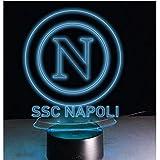 Lampada notturna SSC NAPOLI con logo