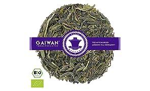 """N° 1137: Tè verde biologique in foglie """"Ding Gu Da Fang (Long Jing)"""" - 250 g - GAIWAN® GERMANY - tè in foglie, tè bio, China"""