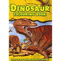 Alligator Books Dinosaur Colouring Book Childrens Activity Learning Colour Pad