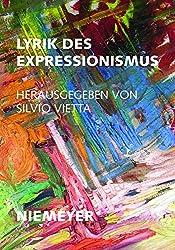Lyrik des Expressionismus (Deutsche Texte, Band 37)