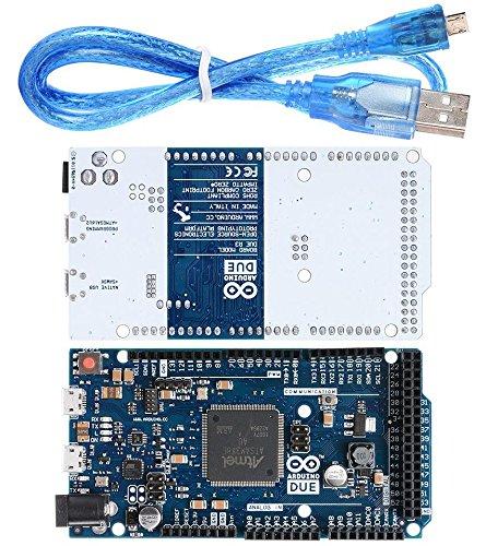 Due R3 Board SAM3X8E 32-bit ARM Controller Kompatibler Klon für Arduino mit USB-Kabel