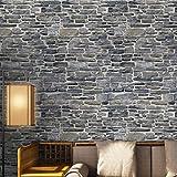 Wandaufkleber Yesmile 100x30CM Wandverkleidung in Steinoptik aus Styropor für Küche Terrasse Schlafzimmer Wohnzimmer Wandpaneele für Mediterrane Wandgestaltung (D)
