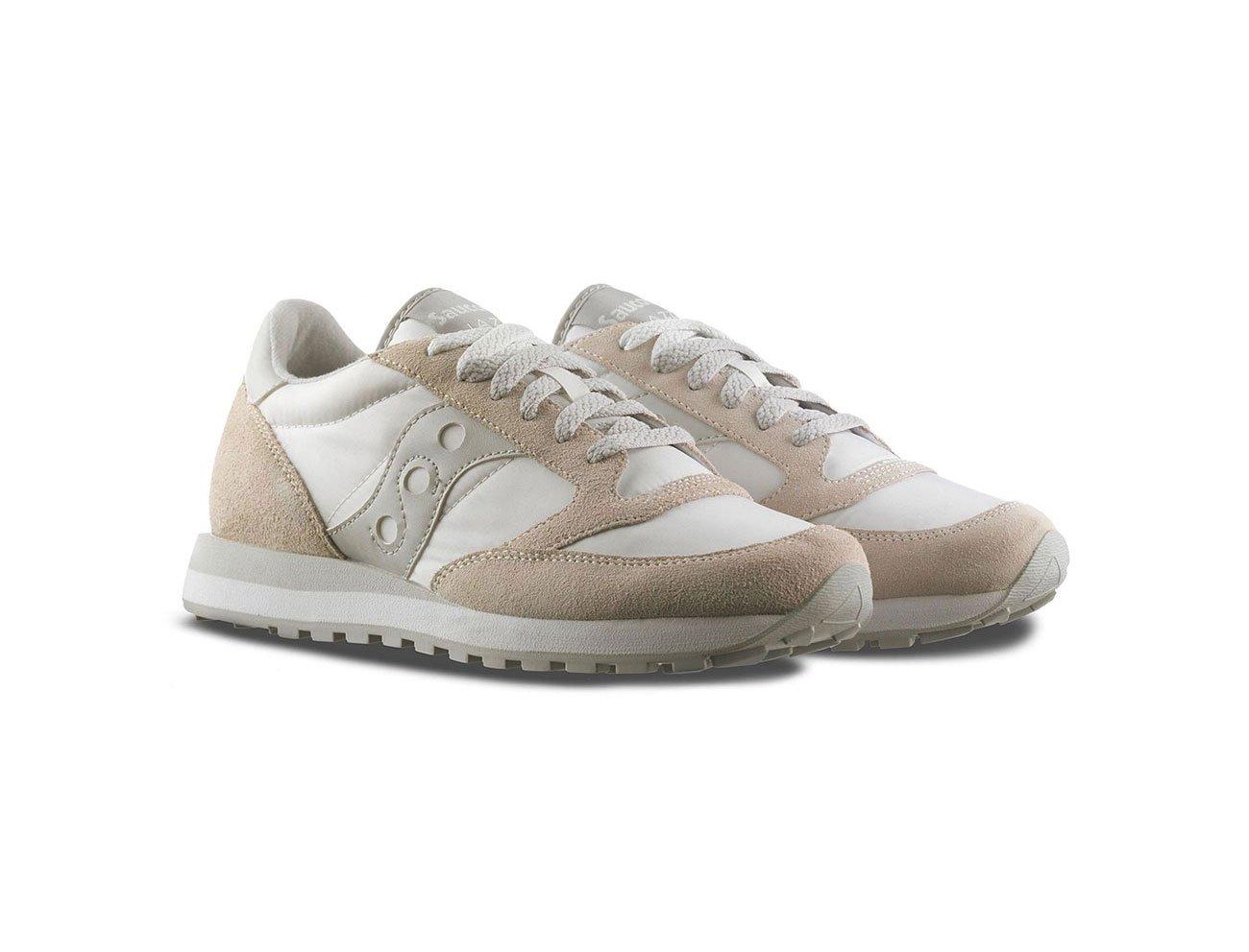 Saucony Sneakers Jazz Original Bianco - Grigio, Uomo. 2 spesavip