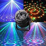 CroLED® 3W Bombilla RGB 3LED Lámpara Bola Luz Multicolor Alta Potencia para Disco Fiesta