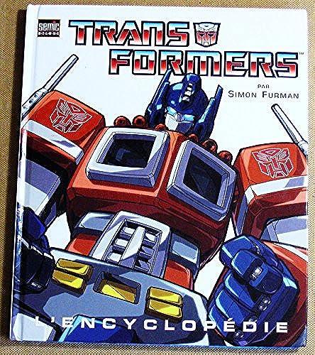 [Livre IDW/Semic] L'encyclopédie Transformers de Simon Furman en Francais 61NehJS22fL._UL500_
