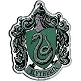 Fan Emblems Slytherin Crest Auto Aufkleber gewölbt/Multicolor/Chrome Finish, Harry Potter Automotive Emblem gilt leicht für Autos, LKWs, Motorräder, Laptops, Handys, Windows, fast alles