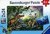 Ravensburger 08890 - Giganten der Urzeit - 2 x 24 Teile Puzzle