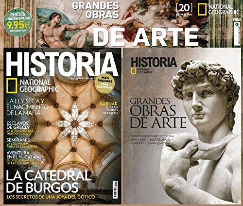 Pack National Geographic Historia. Libro Grandes Obras de Arte - Número 149