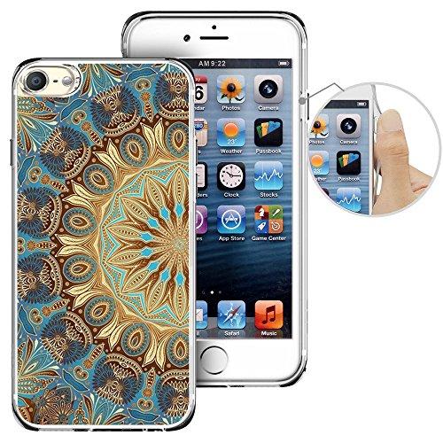 Für Ipod Touch 6. Fall, laaco Schöne Klar TPU Case Gummi Silikon Haut Cover Für Apple iTouch 6-Zeichen Design Pink Ocean, iTouch (25)