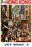 Das Poster Collective Vintage Die orinet ist Hong Kong Jet