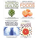 medical medium anthony williams collection 4 books set- thyroid healing[Hardcover],life-changing foods[Hardcover],medical medium,Hidden Healing Powers