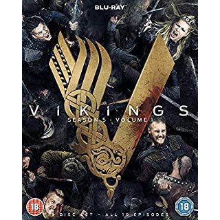 Vikings Season 5 Volume 1 [Blu-ray] [UK-Import]