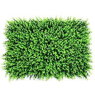 Artificial Plants - 40x60cm Grass Mat Green Artificial Plant Lawns Landscape Carpet Wall Decoration Fake Party Wedding - Roses Mini Decorative Breath Aquarium Cabinets Elephant Cotton Monstera W