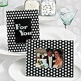 Black and White Polka Dot Photo Frame / ...