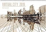 VIRTUAL CITY 2019 (Wandkalender 2019 DIN A2 quer): Virtuelle Architektur - moderne Stadtansichten (Monatskalender, 14 Seiten ) (CALVENDO Orte) - Max Steinwald