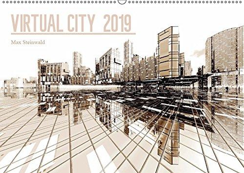VIRTUAL CITY 2019 (Wandkalender 2019 DIN A2 quer): Virtuelle Architektur - moderne Stadtansichten (Monatskalender, 14 Seiten ) (CALVENDO Orte)