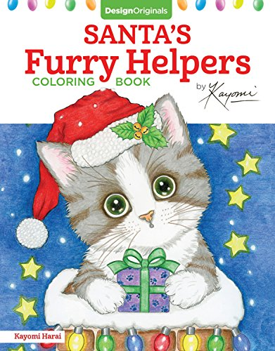Santa's Furry Helpers Coloring Book (Colouring Books) por Kayomi Harai