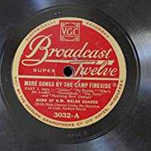 78 rpm WELSH GUARDS BAND more songs by the camp fireside