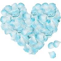 ASANMU 3000 Pezzi Petali di Rosa, Petali di Fiori Finti, Petali di Rose Decorazioni per Matrimonio San Valentine e…
