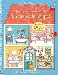 La maison de poupée - Coloriages et autocollants
