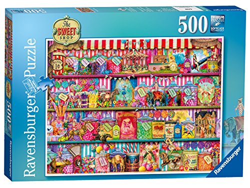 Ravensburger The Sweet Shop Jigsaw Puzzle (500-piece)
