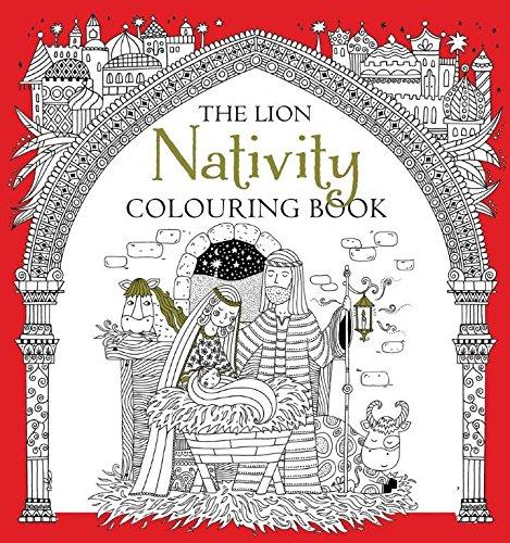 The Lion Nativity Colouring Book (Colouring Books)